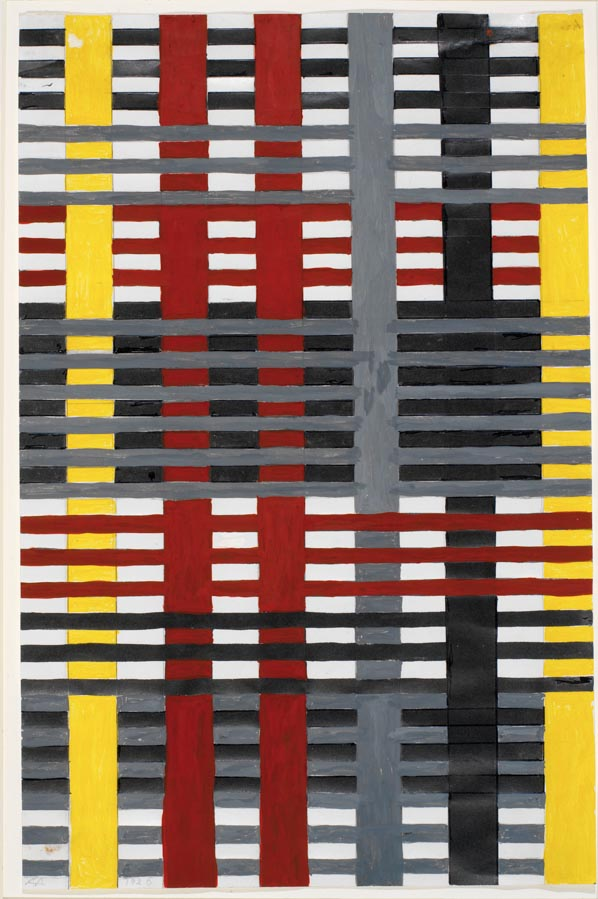 Study for unex wallhanging 1926. Anni Albers